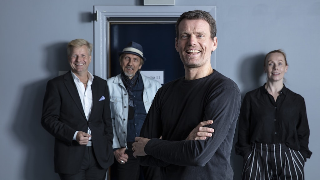 Erik Blix, Mattias Konnebäck, Göran Gabrielsson och Rachel Mohlin