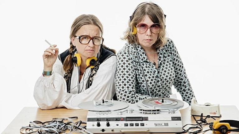 Redaktionen för Utkantssverige: Gertrud Larsson och Åsa Asptjärn.