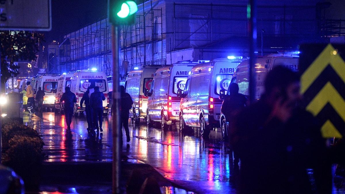 istanbul efter attack på nattklubb