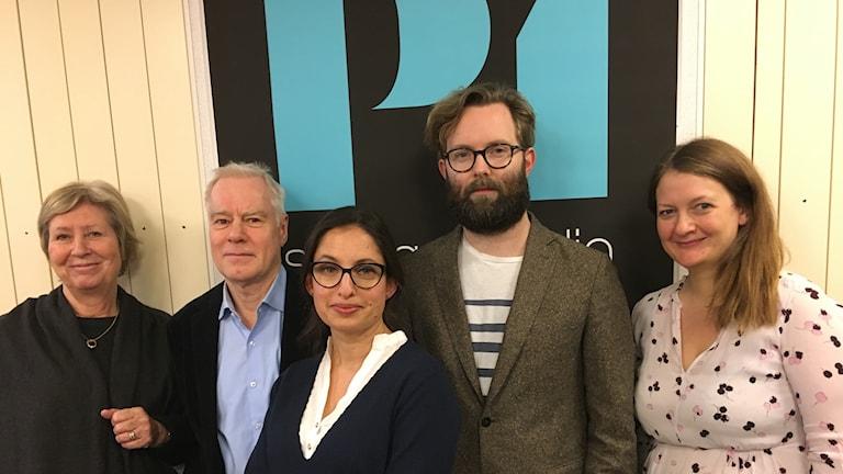 Agneta Ramberg, Olle Hägg, Naila Saleem, Robin Olin och Maggie Strömberg