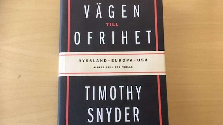 Timothy Snyders bok inns nu på svenska.