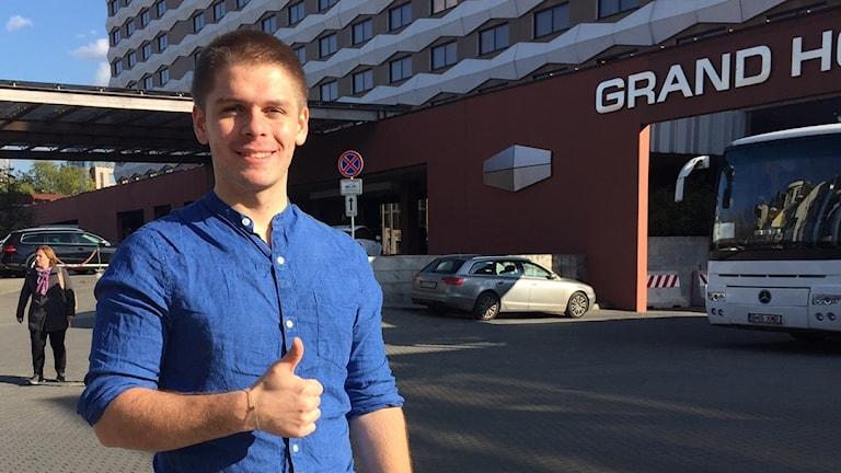 Lyubomir Yanchev började programmera som tonåring.
