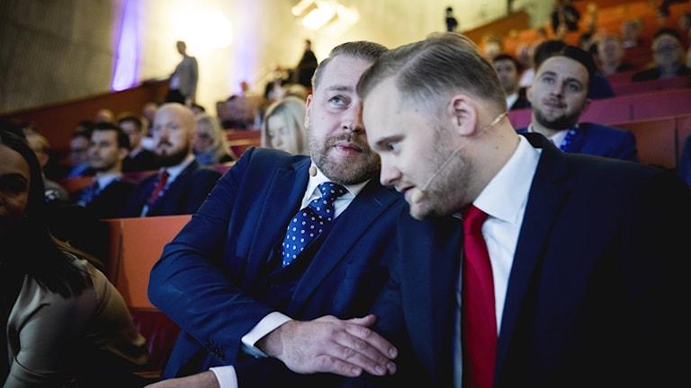 Henrik Vinge väljs nu in i partistyrelsen