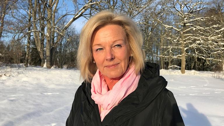 Den statliga utredaren Cecilia Fahlberg har under 2,5 års tid utrett hur Arbetsförmedlingen kan bli mer effektiv. Foto: Maja Lagercrantz/SR
