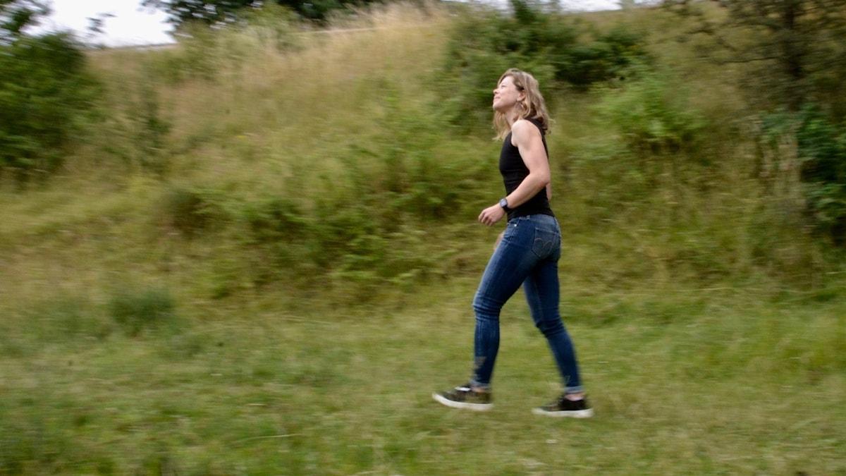 Att vandra kan vara en träning i ödmjukhet, säger filosofen Cathrine Felix.