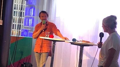 Emil Jensen och Sara Stenholm-Pihl