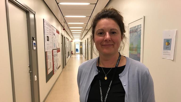 Karin Brocki är professor i psykologi vid Uppsala universitet. Fotograf: Maja Lagercrantz/SR