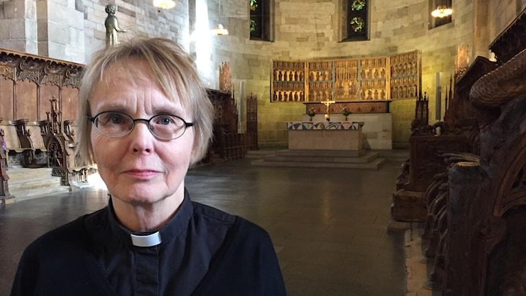 Lena Sjöstrand, Domkyrkokaplan