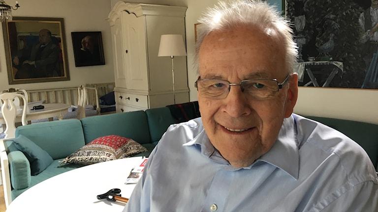 Olof Ruin, professor emeritus i statskunskap