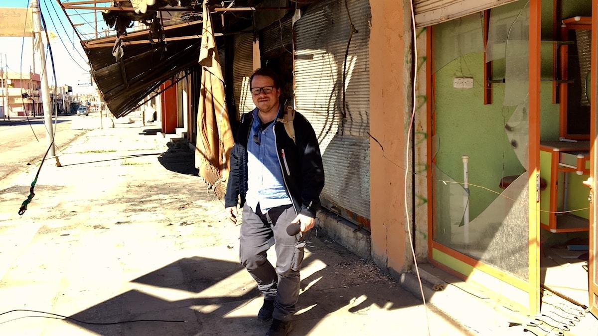 Johan-Mathias Sommarström i Mosul