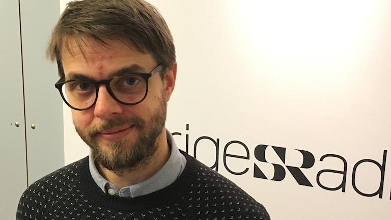 Martin Fällman, digital säkerhetsspecialist på människorätts-organisationen Civil Rights Defenders