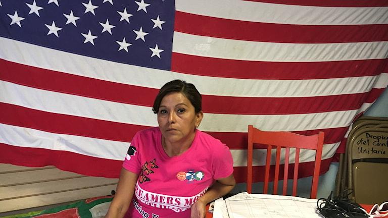 Yolanda Varona som redan deporterats från USA.