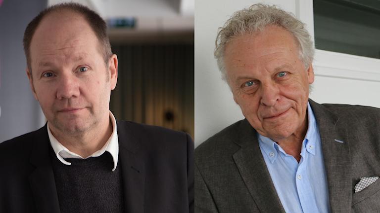 Peter Englund och Herman Lindqvist