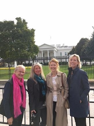 Karin Henriksson, Sara Stenholm, Kajsa Boglind och Ginna Lindberg.