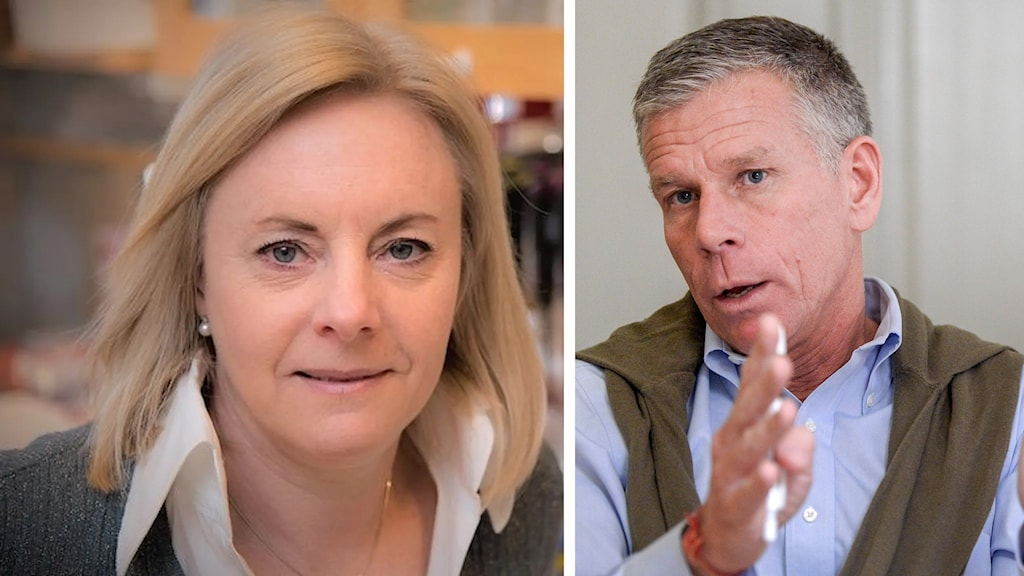 Gunilla Karlsson-Hedestam och Anders Nordström