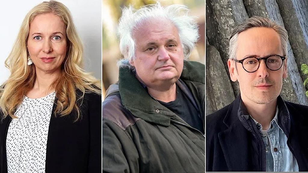 Anna Dahlberg, Göran Greider och Andreas Gustafsson
