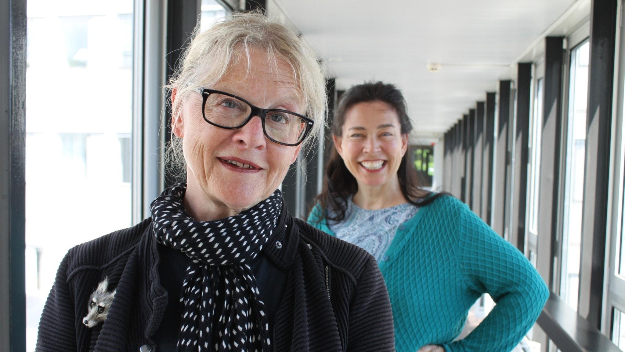 Eva Runefelt och Marie Lundström.