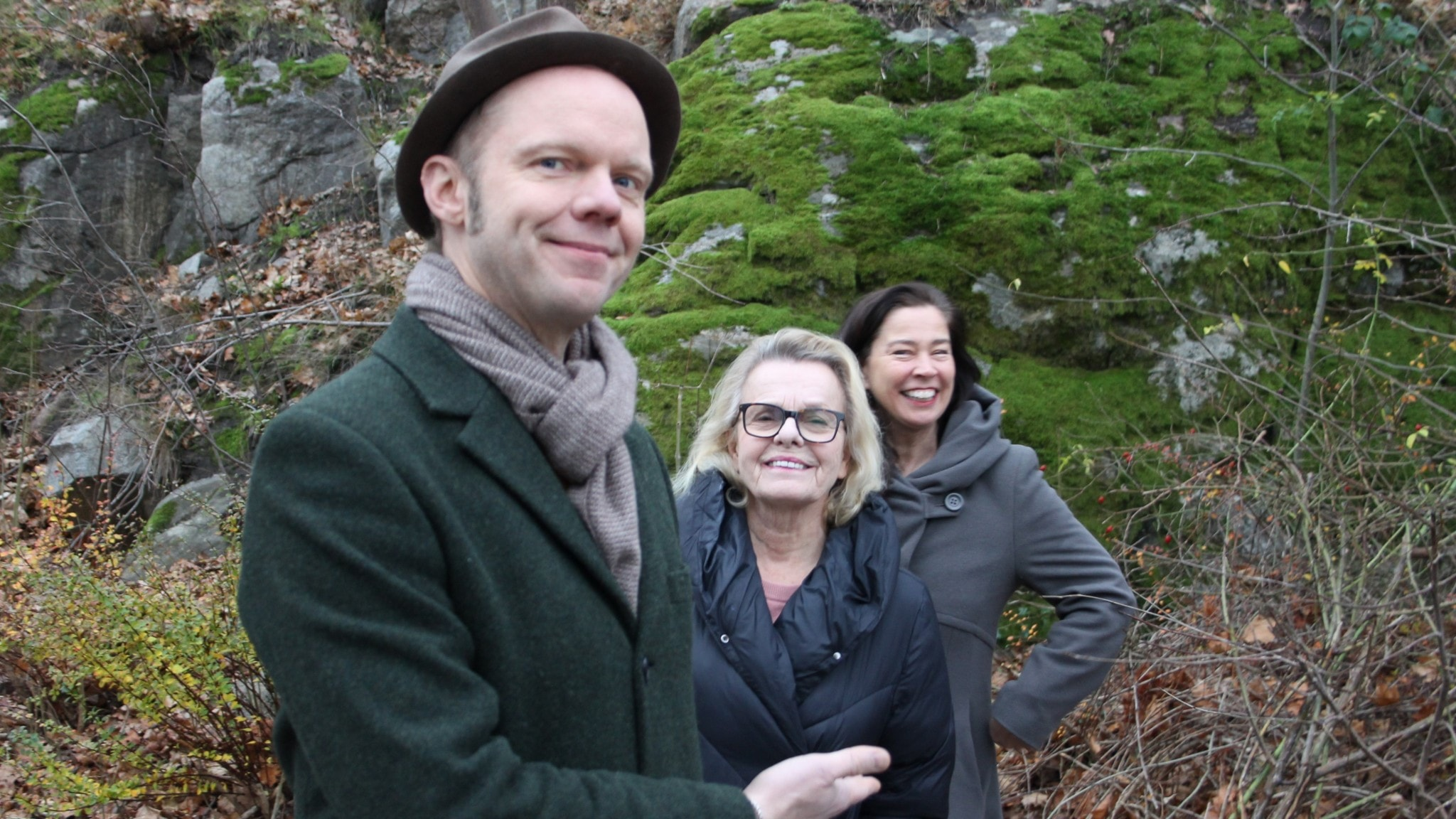 Olof Wretling, Marie Göranzon och Marie Lundström.