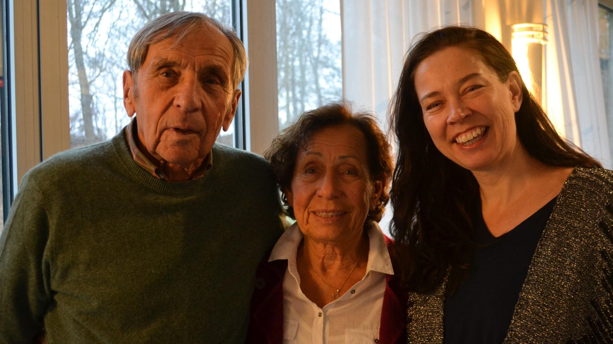 Hur blir jag hel igen? Ett program med Dina och Jovan Rajs. Ett judiskt par som överlevde förintelsen.