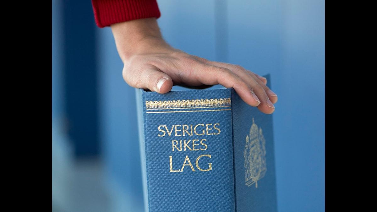 Lagboken - är det verkligen nåt för en litterär skönande? Foto: Fredrik Sandberg, TT.