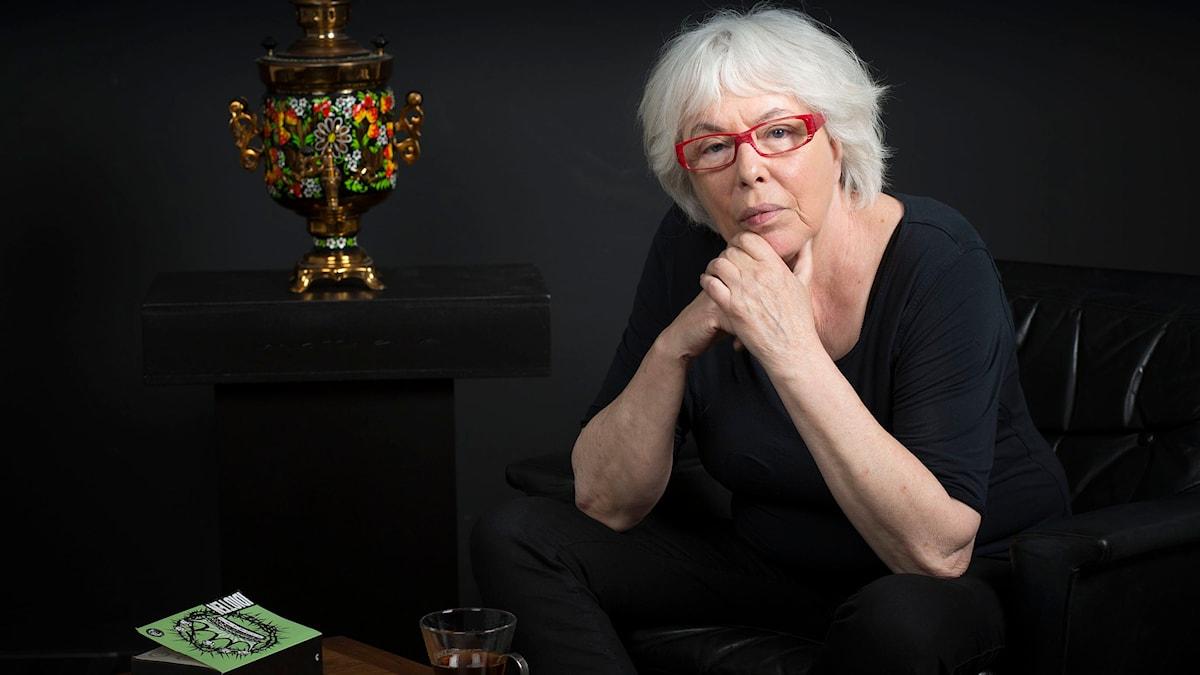 Yvonne Hirdman. Foto: Mikael Grönberg, SR.
