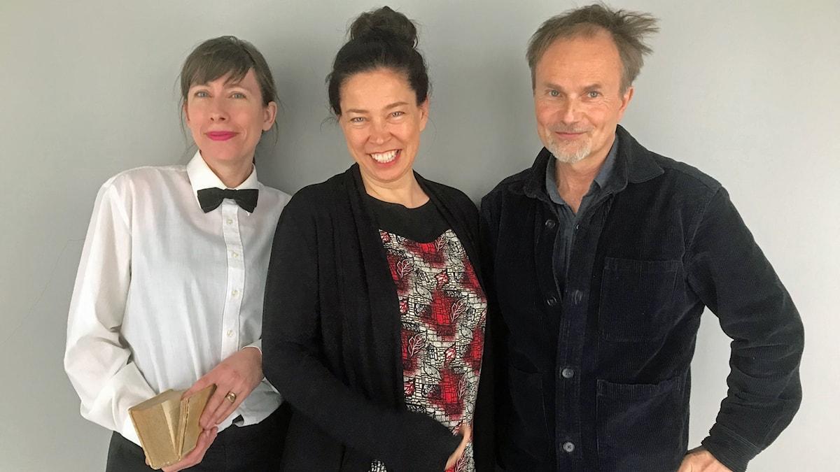 Anna Blennow, Marie Lundström och Per J Andersson vet allt om reselitteratur.