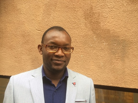 Fiston Mwanza Mujila, aktuell med romanen Tram 83