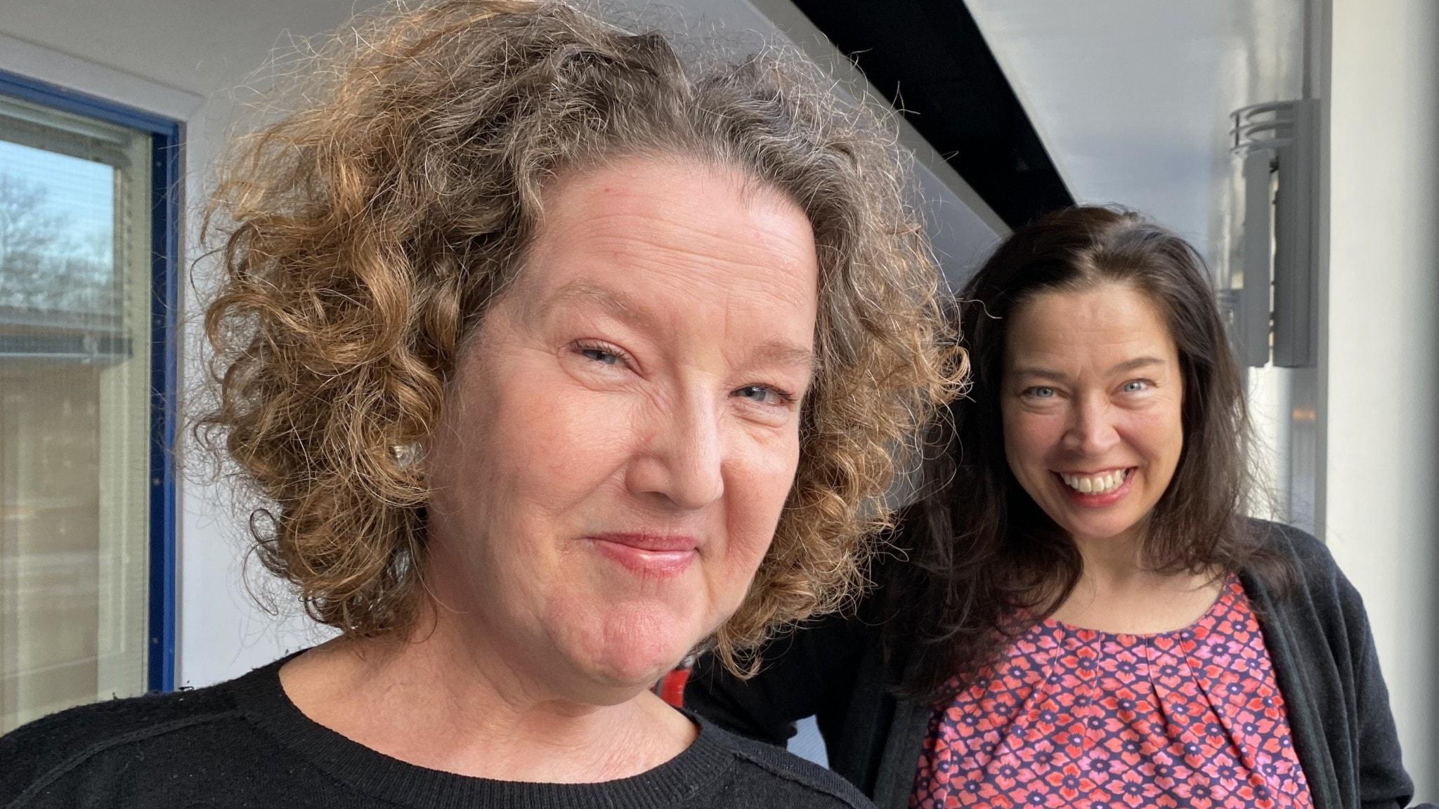 Författaren Anna-Karin Palms mor blev sjuk i Alzheimers och nu kommer romanen om moderns liv - och livet med modern
