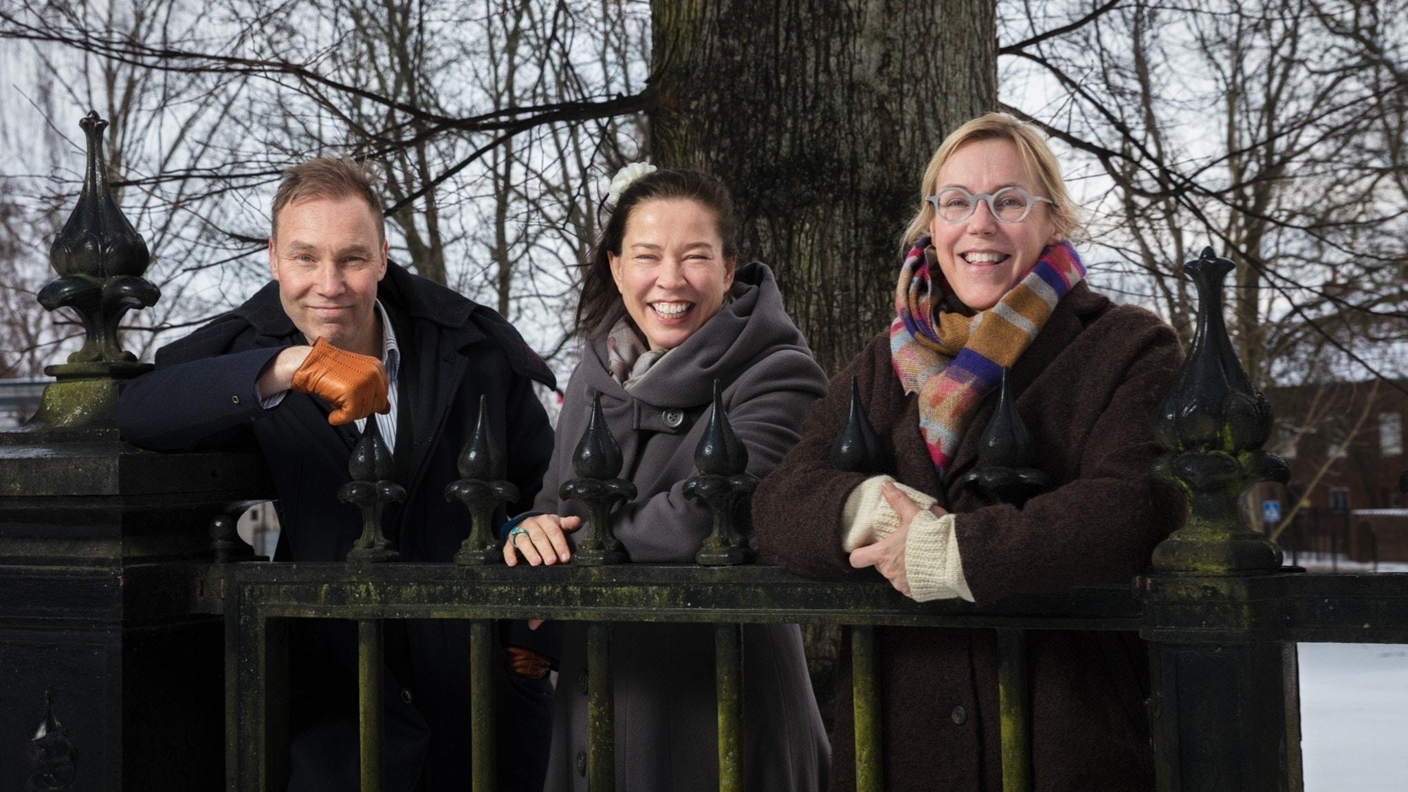 """Åsa Larsson, Uld Karl Olov Nilsson och Marie läser """"Stenarna skola ropa"""" tillsammans med er!"""