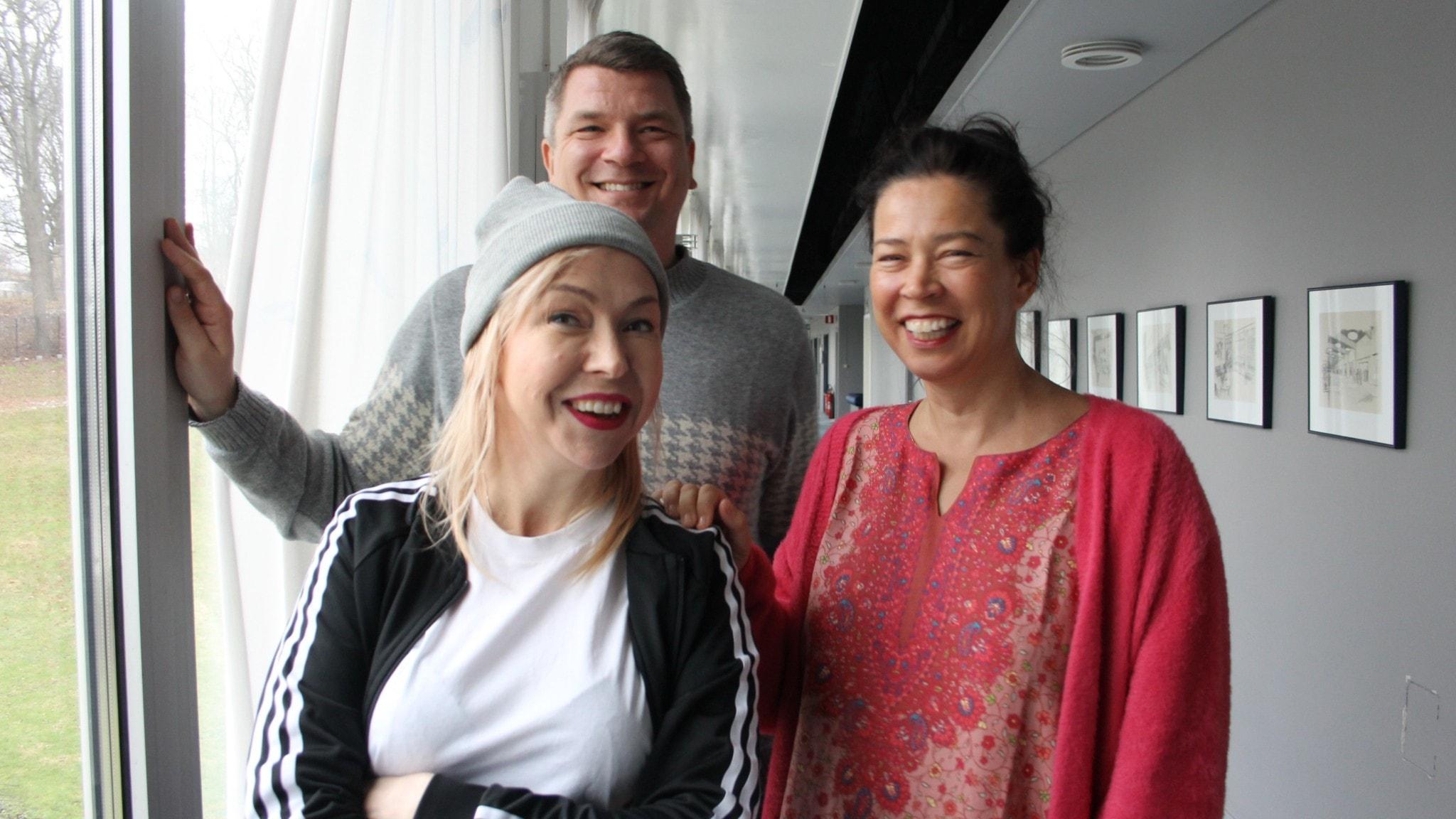 Författare i terapi hos Marie Lundström