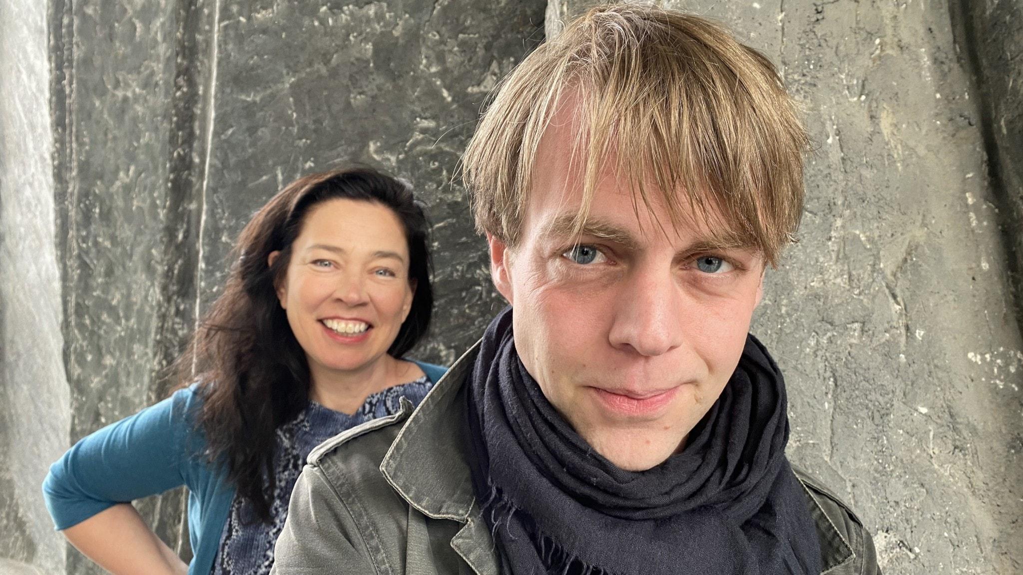 Marie Lundström och Christoffer Carlsson.