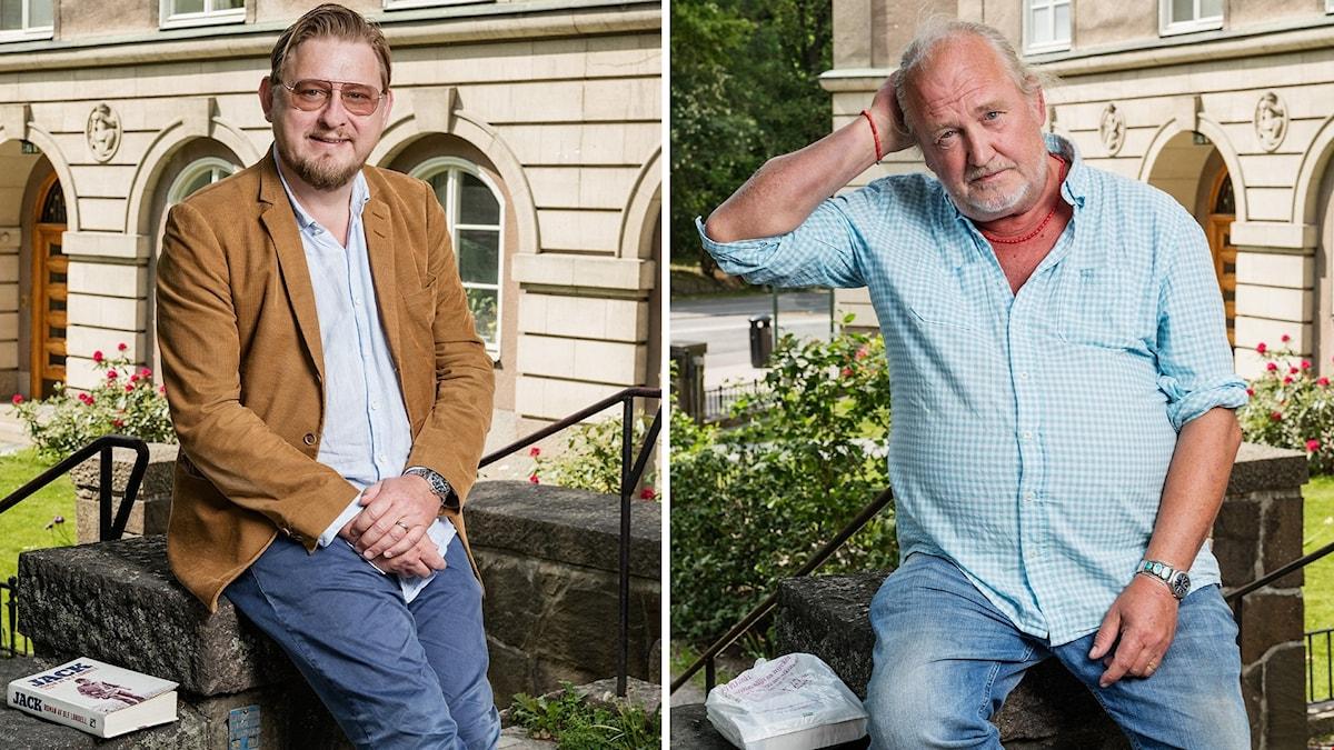 Fredrik Virtanen och Plura Jonsson