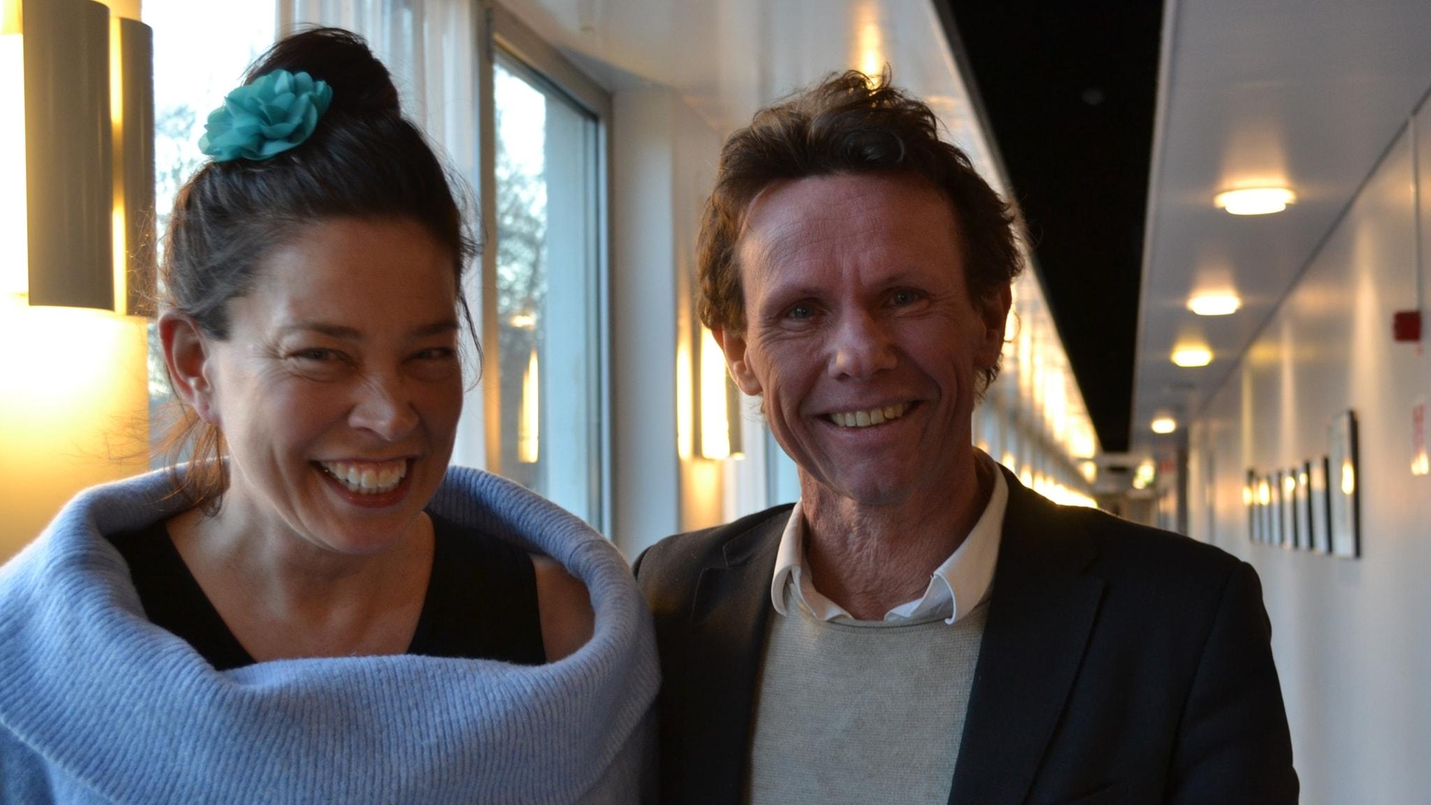 Skrivkonst och textmagi med George Saunders och Bo Sundström