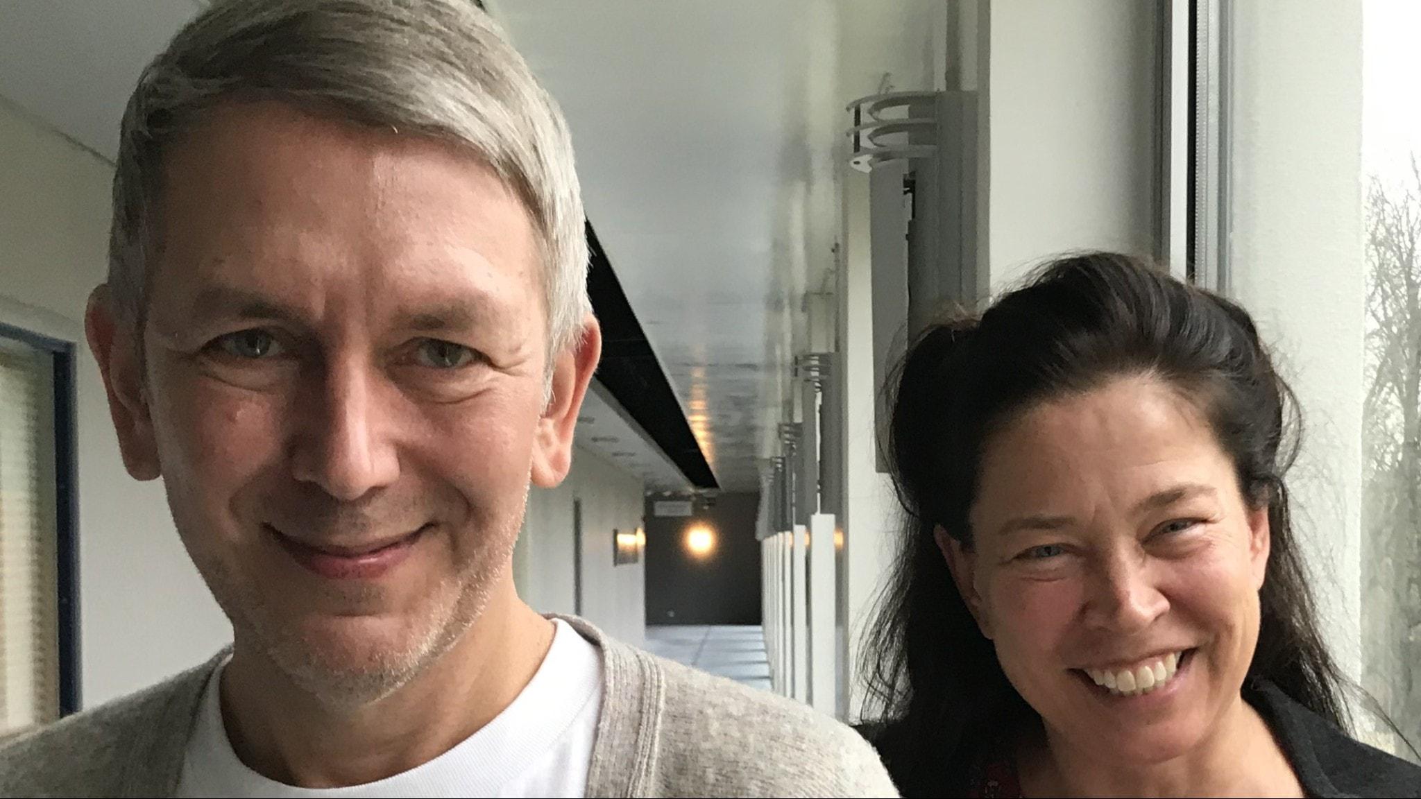 Andres Lokko och Marie Lundström.