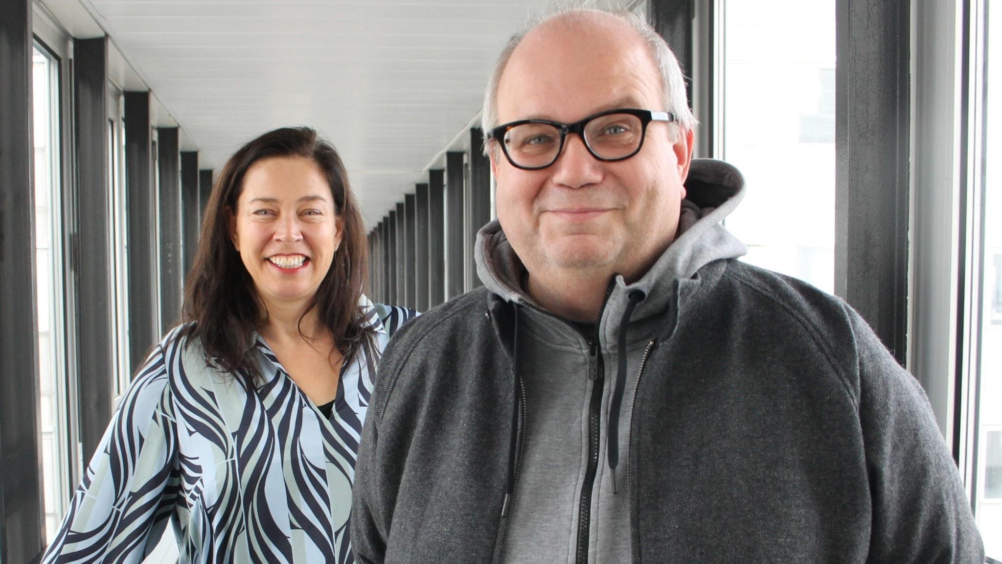 Marie Lundström och Dick Claésson.