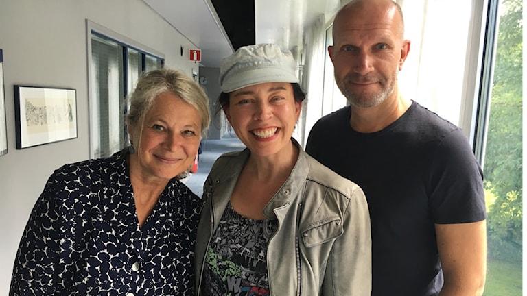 Helena von Zweigbergk, Marie Lundström och Henrik Hjelt