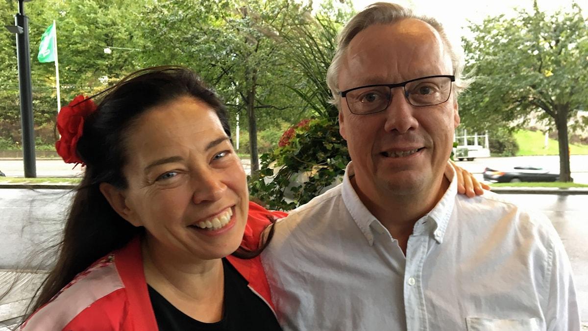 Marie Lundström har fångat Jonas Jonasson i flykten!