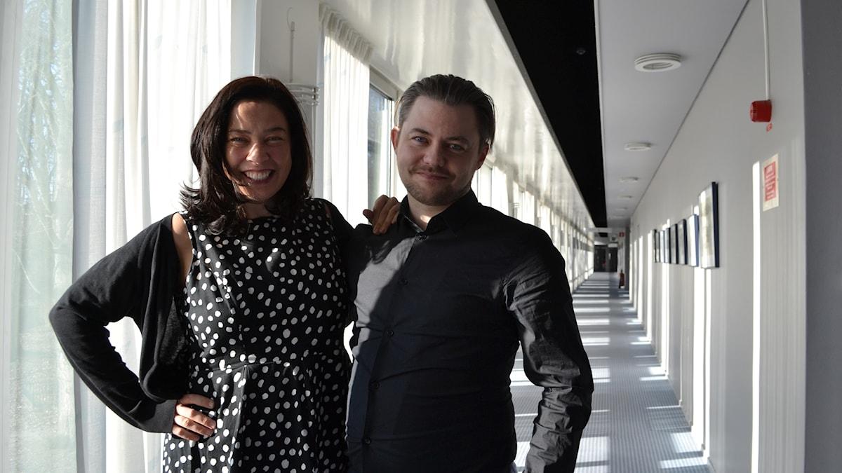 Mikael Berglund och Marie