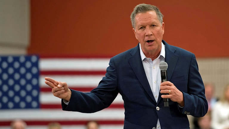 John Kasich. Foto: Molly Riley/TT.