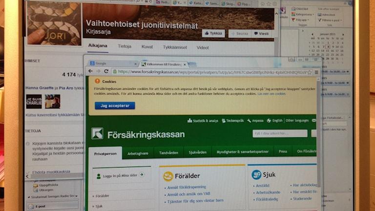 Internetti, foto: Erpo Heinolainen SR Sisuradio