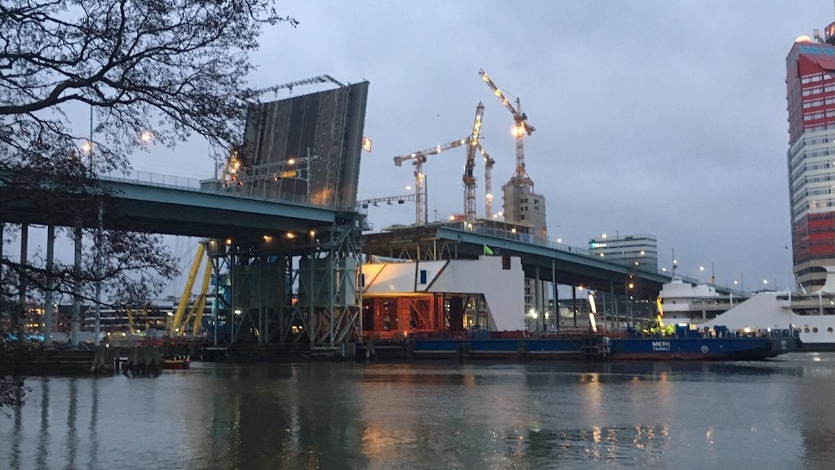 Göta-joen silta Göteborgissa.