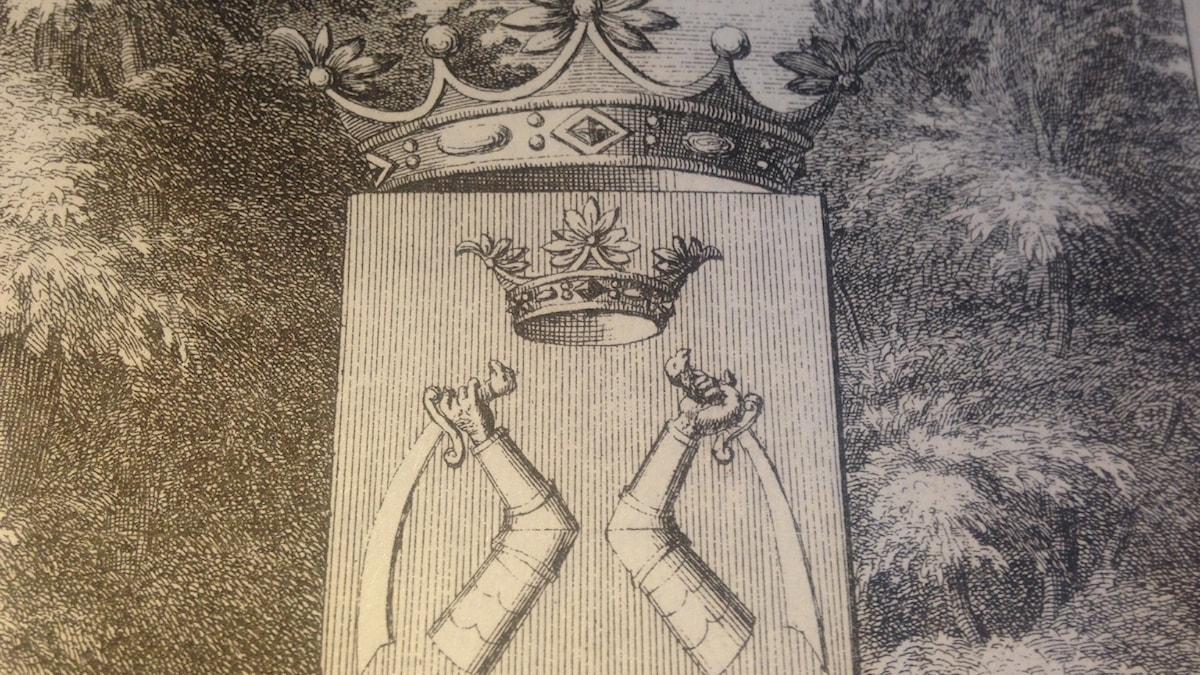 Karjalan vaakuna v. 1714