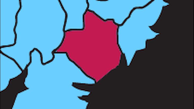 Karta P4 Sörmland