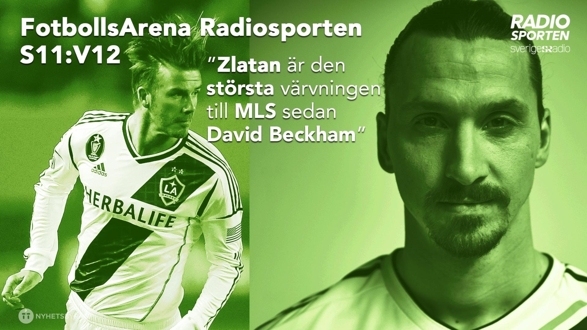 Galaxy-experten: Zlatan är den största sen Beckham