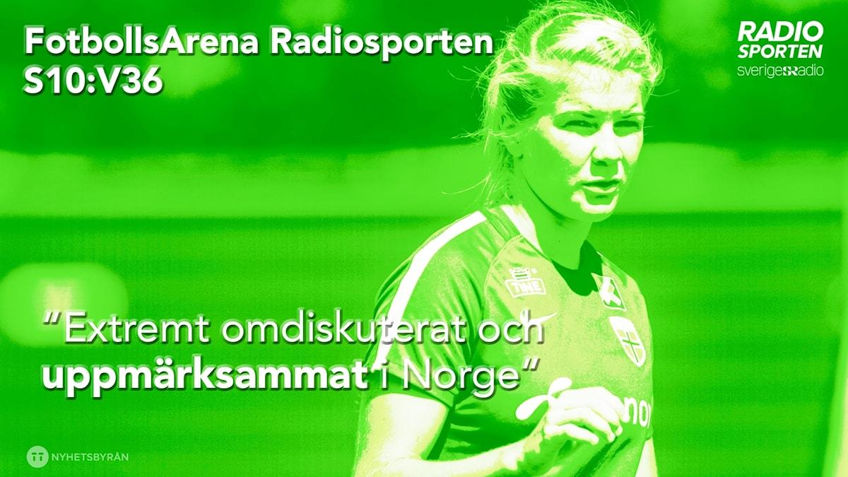 Ada Hegerberg har hoppat av det norska landslaget.