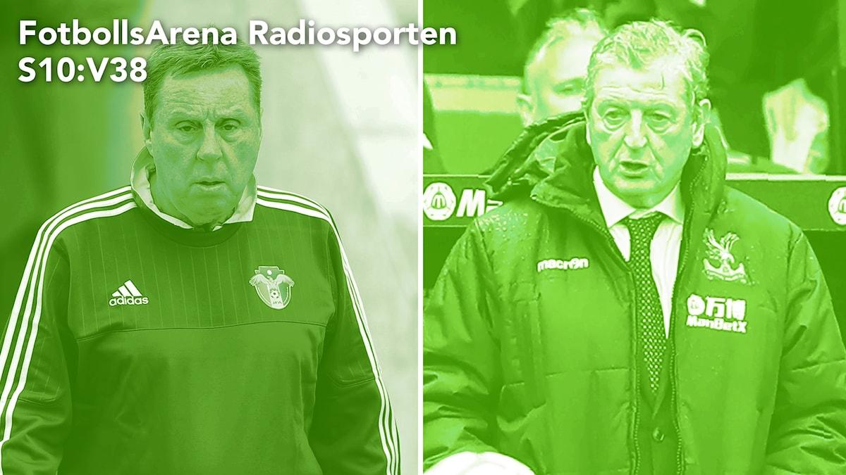Harry Redknapp och Roy Hodgson.
