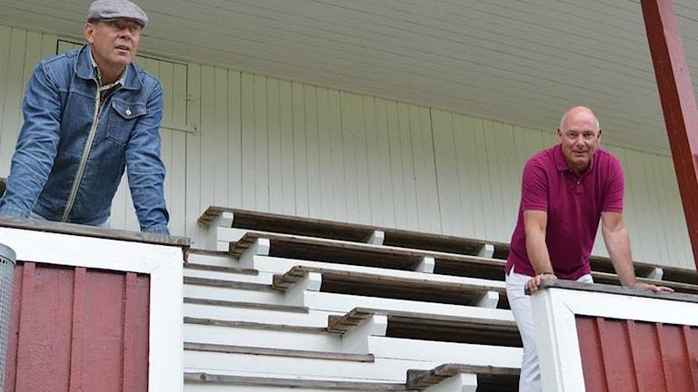 """Ronald """"Rolle"""" Åhman och Göran Willis. Foto: Privat."""