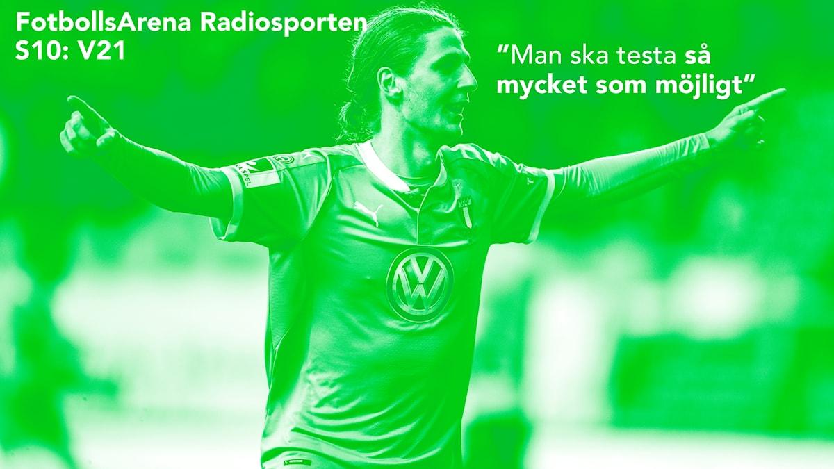 Pawel Cibicki gästar veckans FotbollsArena Radiosporten.