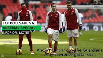 FotbollsArena 12 februari: Arsenal special. Foto: TT.