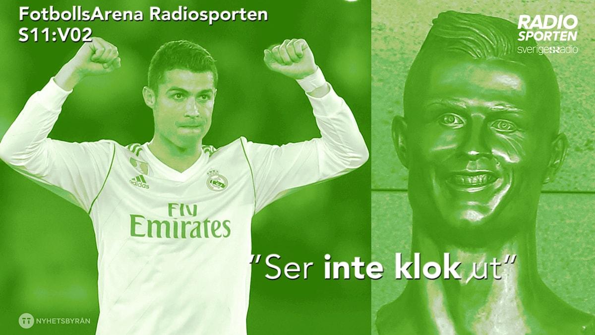 Ronaldo blev staty.